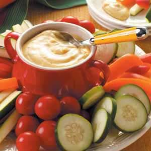 Curried Vegetable Dip Recipe