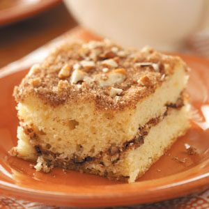 Sour Cream Streusel Coffee Cake Recipe