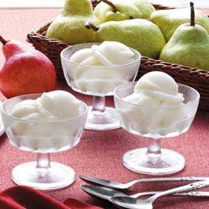 Pear Sorbet Recipe photo by Taste of Home