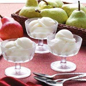 Pear Sorbet Recipe photo by Taste of Home