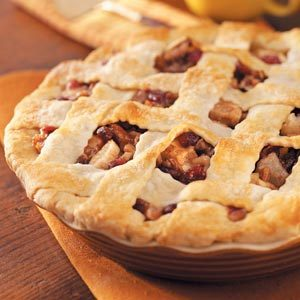 Cranberry-Pecan Pear Pie Recipe