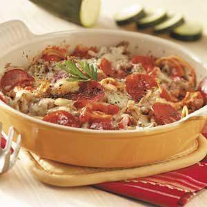 Favorite Italian Casserole Recipe