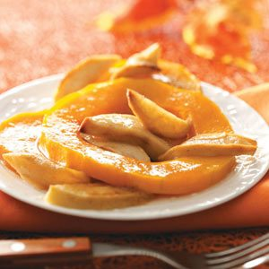 Squash-Apple Bake