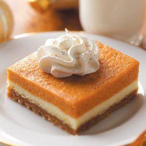 Pumpkin Dessert Bars Recipe