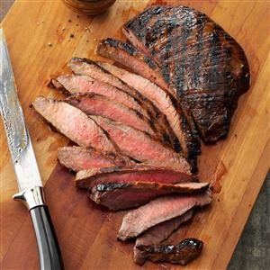 Grilled Tender Flank Steak Recipe