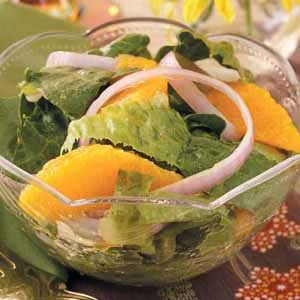 Romaine with Oranges