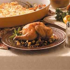 Baked Cornish Hens Recipe