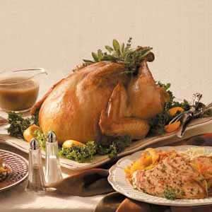 Low-Sodium Herb-Rubbed Turkey Recipe