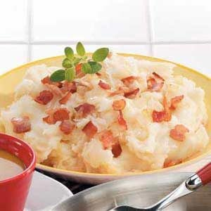Sauerkraut Mashed Potatoes Recipe