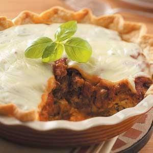 Country Pizza Pie Recipe