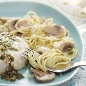 Mushroom Feta Pasta Recipe