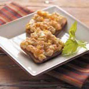 Artichoke Rye Toasts Recipe
