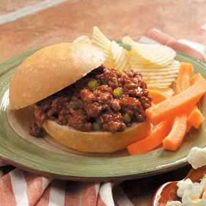 Flavorful Sloppy Joes