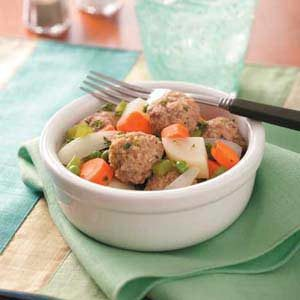 Favorite Meatball Stew Recipe