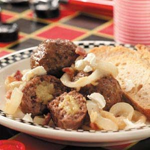Garlic-Filled Meatballs Recipe