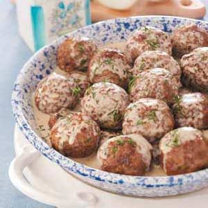 Dad's Swedish Meatballs Recipe