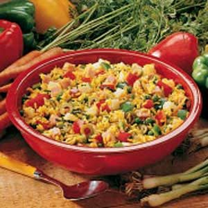 Hearty Rice Salad Recipe