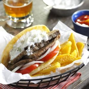 Favorite Meat Loaf Gyros Recipe