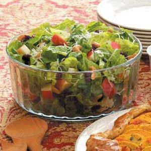 Autumn Tossed Salad Recipe