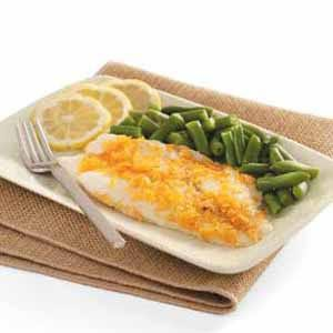 BBQ Chip-Crusted Orange Roughy Recipe