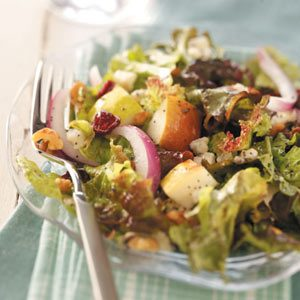 Elegant Cranberry Pear Salad Recipe