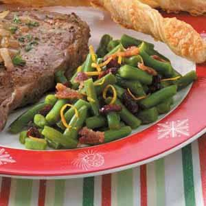Holiday Green Beans Recipe