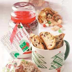 Pistachio-Cranberry Biscotti for a Crowd
