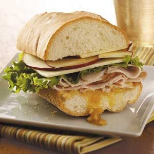 Havarti Turkey Hero Recipe