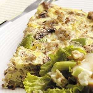 Hearty Potato Frittata Recipe