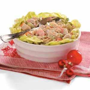 Chicken Pasta Salad for Four Recipe