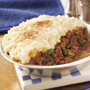 Hamburger Shepherd's Pie Recipe photo by Taste of Home