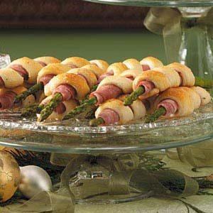 Ham Asparagus Spirals Recipe