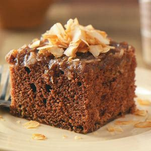 German Chocolate Upside Down Cake Recipe