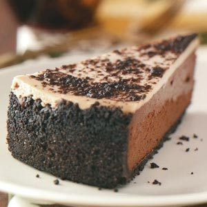 Double Chocolate Almond Cheesecake