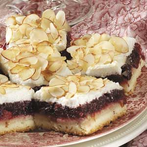 Ginger Cranberry Bars Recipe