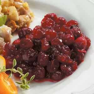 Spiced Cranberry Sauce Recipe