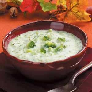 Rich Broccoli Cream Soup Recipe