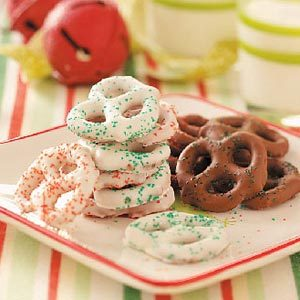 Chocolate-Coated Pretzels Recipe