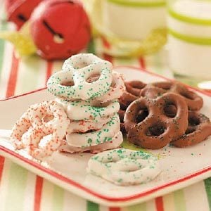 13 Chocolate-Covered Pretzel Treats