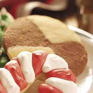 Semisweet Chocolate Pinwheel Cookies Recipe