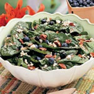 Spinach Blueberry Salad Recipe