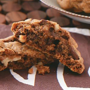 Mocha Chunk Cookies Recipe