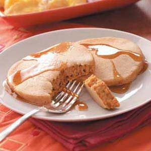 Pumpkin-Flavored Pancakes Recipe