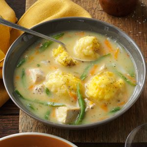 Yummy Chicken and Dumpling Soup Recipe
