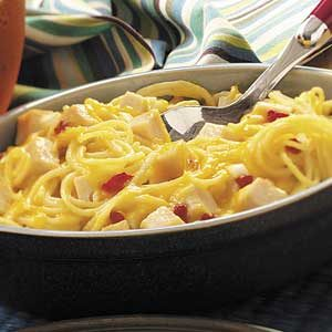 Turkey Tetrazzini For Two Recipe