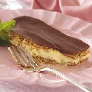 Chocolate Eclair Graham Dessert