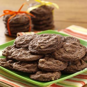 Chewy Chocolaty Cookies Recipe