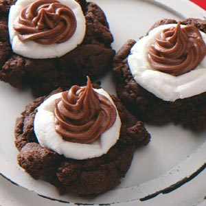 Cocoa/Marshmallow Cookies Recipe