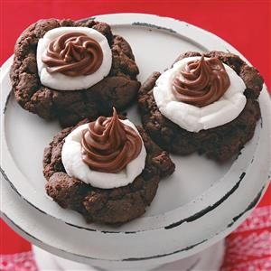 Cocoa/Marshmallow Cookies