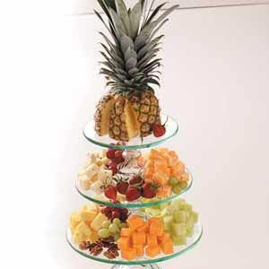 Nutty Fruit 'n' Cheese Tray Recipe